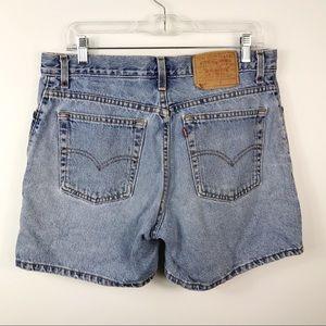 "Vintage Ladies Levi Shorts 555 ""Guys Fit"""